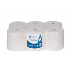 Andarta 2Ply 200m 62mm Core Mini Jumbo Toilet Roll (Pack of 12)