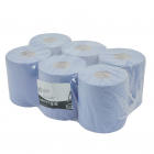 Andarta 2Ply Blue Embossed 150m Centre Feed Roll (Pack 6)