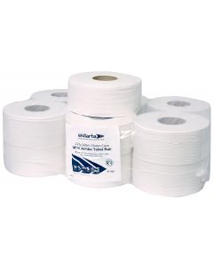 Andarta 2Ply 200m 76mm Core Mini Jumbo Toilet Roll