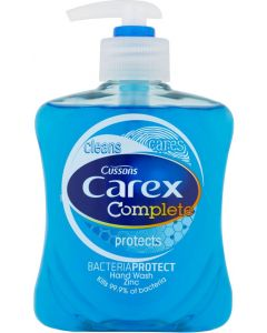 Carex Original Anti-Bac Hand Soap Pump Bottle (6x250ml)