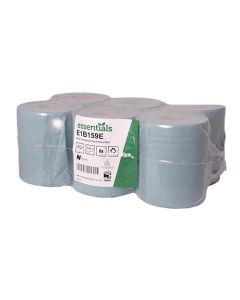1Ply Blue 150m Extra Strong Centre Feed Roll