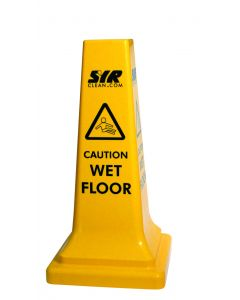 "Caution Wet Floor Warning Cone (26"")"