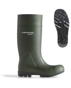 Purofort Green Safety Wellingtons Size 6 Eur 39