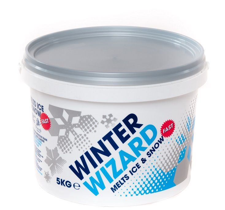 Winter Wizard Fast De Icer 5kg Tub Jansanuk