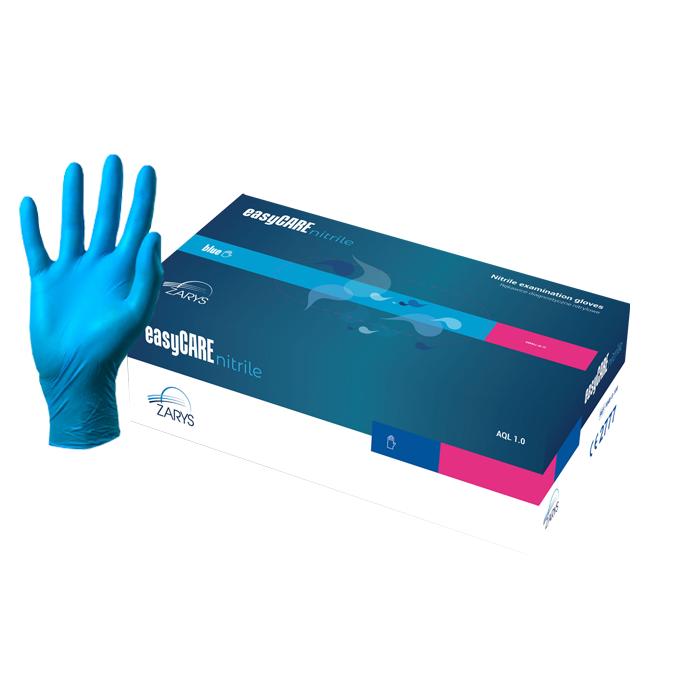Blue Powder-Free Nitrile Gloves (Medium) Box of 200
