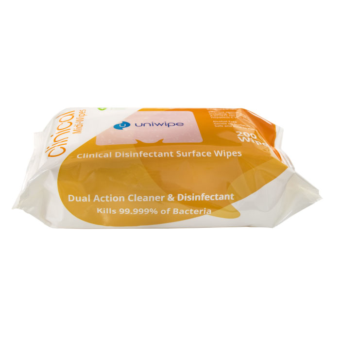 Midi Disinfectant Surface Wipes (200 Pack)